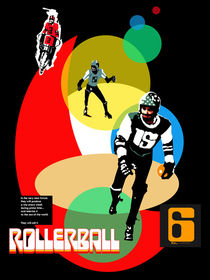 ROLLERBALL by MICHAEL EDDINGTON