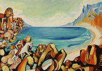 Szene mit Strand und Meer von Dejan Knezevic