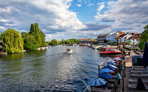 View Upriver From Henley Bridge by Ian Lewis