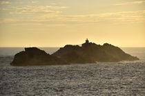 Insel im Abendlicht von Tobia Nooke