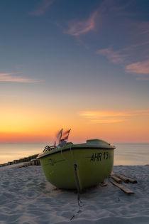 Fischerboot by Reiko Sasse