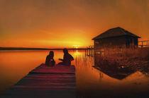 'Sunset Serenade' von Robert Deering