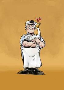 The butcher who loved his goose by Gabor Racsmany