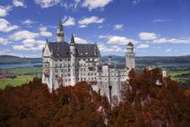 Neuschwanstein Castle by Robert Deering