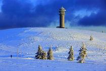 Winter auf dem Feldberg im Schwarzwald von Patrick Lohmüller