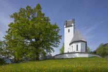 Wallfahrtskirche St. Margarete, St. Margarethen, Brannenburg, Oberbayern, Bayern, Deutschland, Europa by Torsten Krüger
