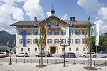 Rathaus, Tegernsee, Oberbayern, Bayern, Deutschland, Europa by Torsten Krüger