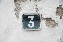 Vintage three sign von Thomas Thon