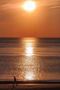 Sonnenuntergang auf Sylt 2 by Marc Heiligenstein