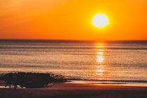 Sonnenuntergang auf Sylt 1 by Marc Heiligenstein