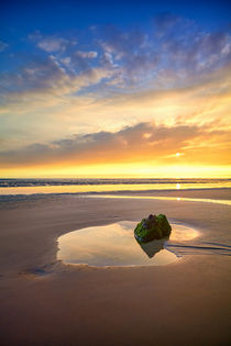 Ruhige Abendstimmung am Strand by photoplace