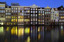 Grachtenhäuser Amsterdam by Patrick Lohmüller