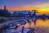 Dresden am Abend von ullrichg