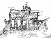 Berlin, Brandenburger Tor von Kai Rohde
