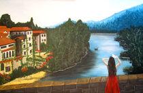 Mädchen auf der Brücke von Thomas Spyra