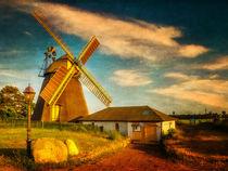 Mühle an einem Sommerabend von freedom-of-art