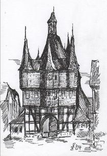 Rathaus Frankenberg/Eder von Kai Rohde