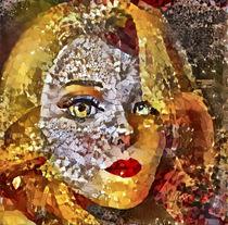 Blondine im Spiegel by garrulus-glandarius