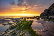 Cornish Beach von photoplace