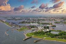 Wilhelmshaven, Luftbild von Rolf Müller