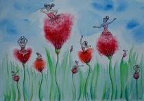 Blumenmädchen von Anne Voges