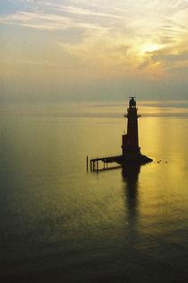 Leuchtturm Robbenplate von Rolf Müller