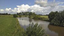 Kanal in Friesland von Rolf Müller