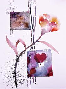 Blume 3 von Theodor Fischer