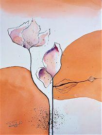 Blume 2 von Theodor Fischer
