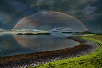 Rainbow Over Skye by Colin Metcalf