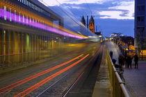 Lichtspuren Freiburg von Patrick Lohmüller