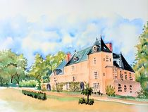 Chateau Allers,  by Theodor Fischer