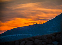 Sunset across the crest by Marie Selissky