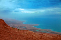 Sunset at Dead Sea by Marie Selissky