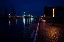 Hafen bei Nacht von Michael Winter