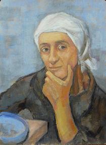 Die Schriftstellerin Christine Lavant  von alfons niex