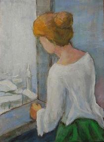 Frau am  Fenster, nicht Kasper David Friedrich von alfons niex