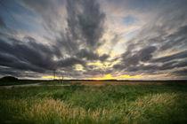 Wolken über dem Baltikum by Rolf Müller