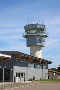 Tower Flughafen Altenburg von alsterimages