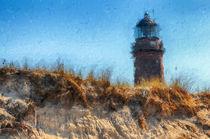 Leuchtturm vom Darsser Ort an der Ostsee. Prerow von havelmomente