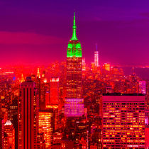 Empire State Building red by inside-gallery