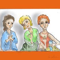 Drei Frauen von Anita Calore