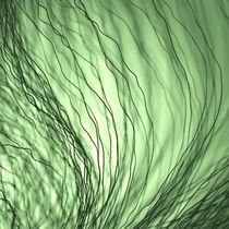 Dunkle Fasern grün by dresdner