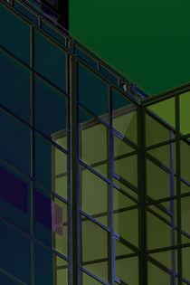 Bunte Fenstergeometrie  von Bastian  Kienitz