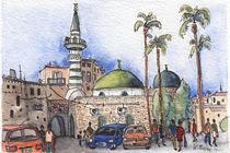 Akko – Al Seituna Moschee von Hartmut Buse