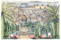 Haifa – Gärten der Bahai von Hartmut Buse