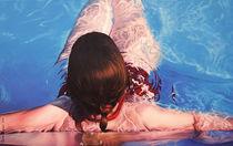 Im Pool by Renate Berghaus