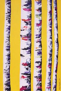 Birken gelb by Renate Berghaus