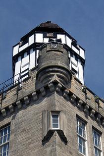Camera Obscura Castle Hill Edinburgh Scotland von GEORGE ELLIS