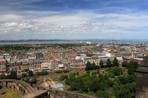 View From Edinburgh Castle  Edinburgh Scotland 02 von GEORGE ELLIS